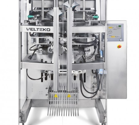 Vertical packaging machine HSV 360 DUPLEX front